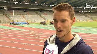 Le champion d'Europe du marathon Koen Naert s'entraîne dans un club bruxellois