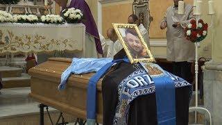 Arzano (NA) - I funerali di Vincenzo Ferrante -live- (02.03.14)