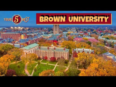 BROWN UNIVERSITY Tour Providence Rhode Island 4k Drone Video