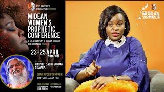 Session 1 - Sadhu Sundar Selvaraj | Midean Women Prophetic Conference | Accra, Ghana