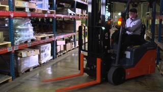 Forklifts Loading and Unloading Applications Video