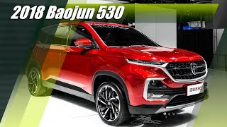 All-New 2018 Baojun 530 SUV From General Motors-SAIC Joint Venture