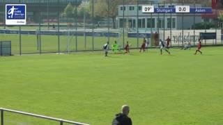 B-Junioren - VfB Stuttgart 2 vs. VfR Aalen 0-1 - Vincent Werner