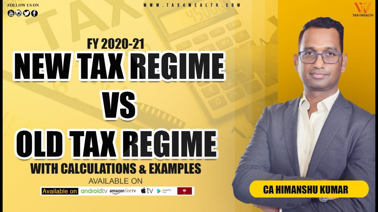 Tax Regime old vs new India | Income Tax Calculation FY 2020-21 in Hindi | ITR Filing 2020-21