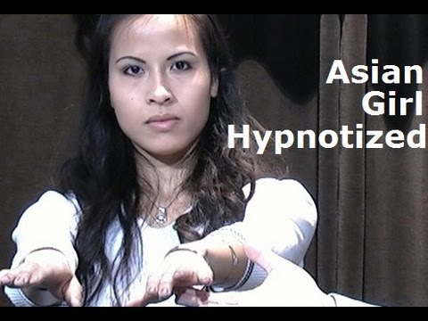 Asian girl hypnotized