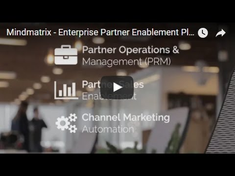 Mindmatrix: Partner Relationship Management Software (PRM Software)
