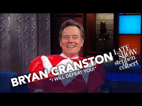 Bryan Cranston Is The Red Power Ranger fragman