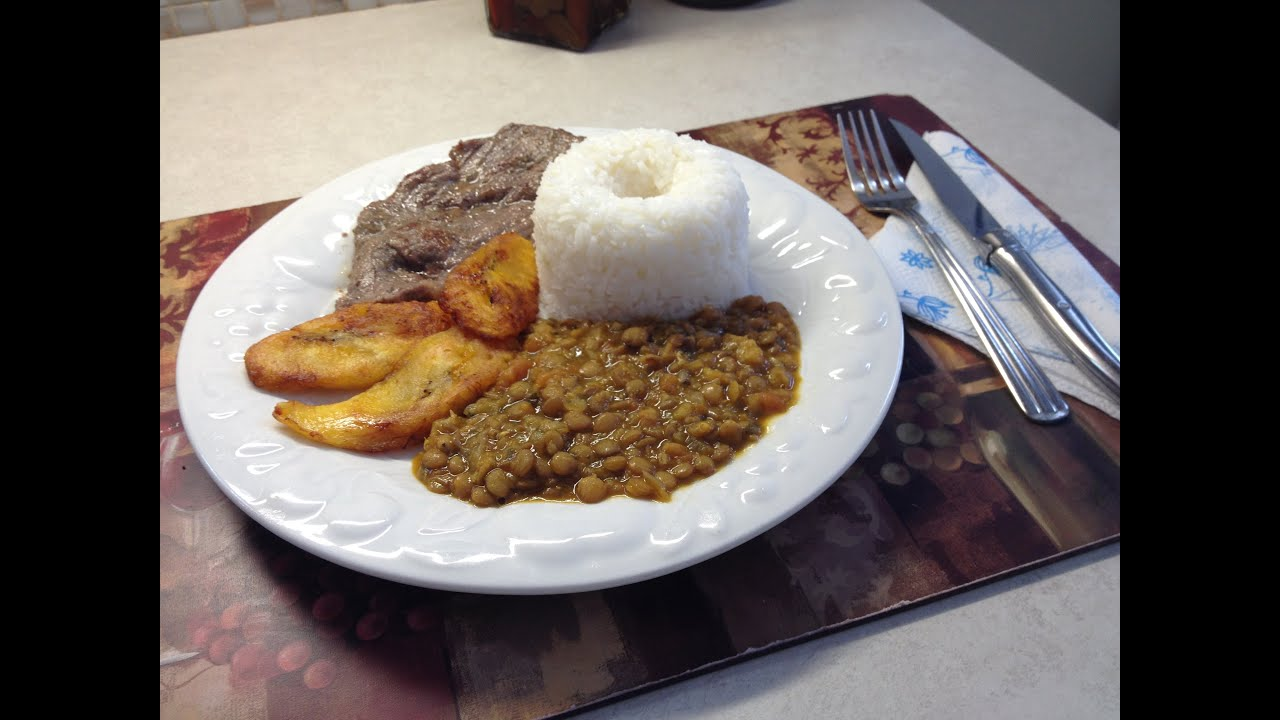 Cocina Ecuatoriana Menestra De Lentejas