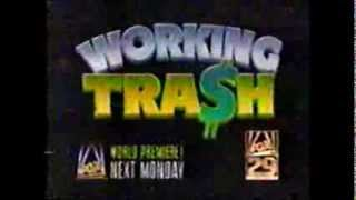 Working Tra$h Movie Ad (1990) - 24 years old