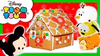 TSUM TSUM Disney Christmas Tsum Tsum Holiday in Real Life Christmas Fun Video Parody