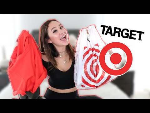 AFFORDABLE SUMMER TARGET TRY ON HAUL!!