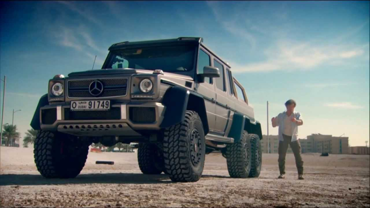 Mercedes 6X6 Youtube Top Gear