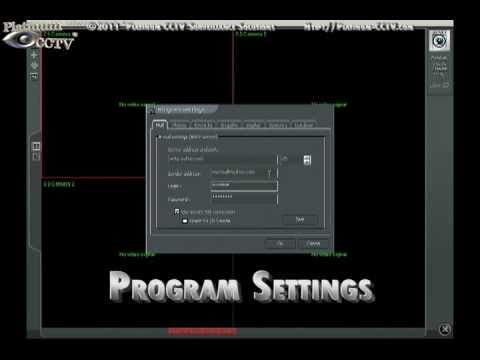 Alnet Advanced Program Settings - Alnet PC-Based DVR Cards and NVR Software