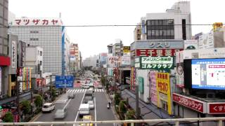 Tokyo's Yamanote Line - time lapse