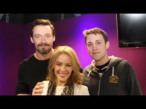 Hugh Jackman plays Innuendo Bingo - hosted by Kylie!!!!!!