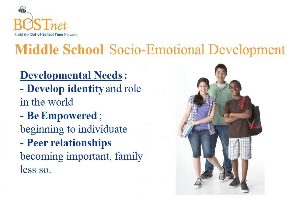 Development needs of middle adults