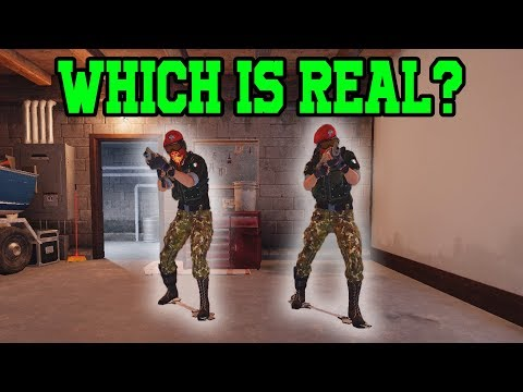 Amazing Alibi Trick!  Rainbow Six Siege Gameplay