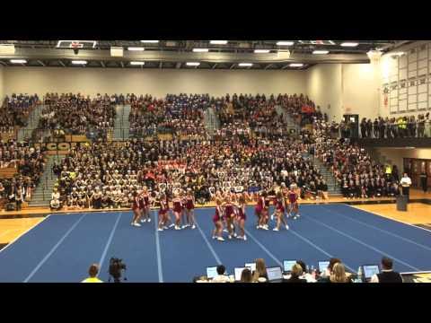 Lockport Varsity Cheer @ LWN 2015