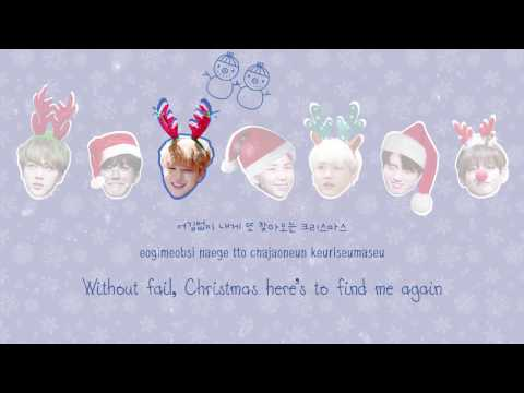 ⌈MERRY X-MAS⌋ BTS (방탄소년단) – A Typical Idol's Christmas [Color coded Han|Rom|Eng lyrics]
