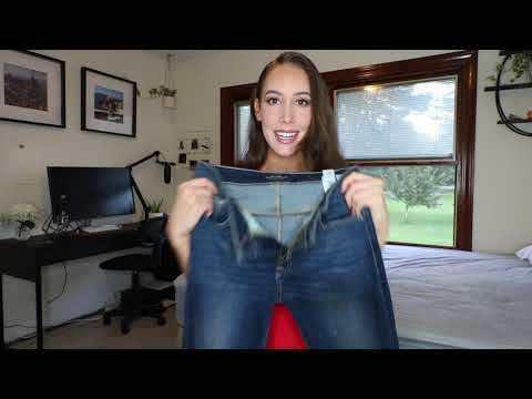 Favorite Jeans for a Big Butt Small Waist! Jean Try-On! TJ MAXX
