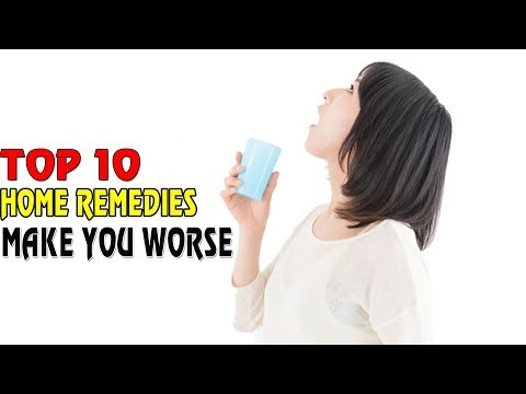 TOP 10 Trusted Home Remedies That Will Only Make You Worse|Health Solution