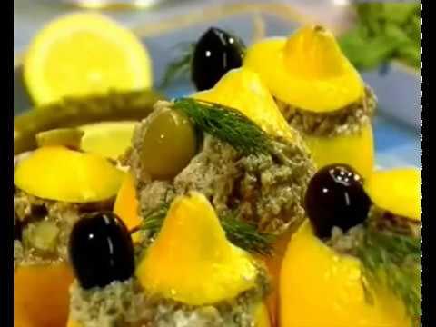 Фаршированные лимоны. Вкусные истории.