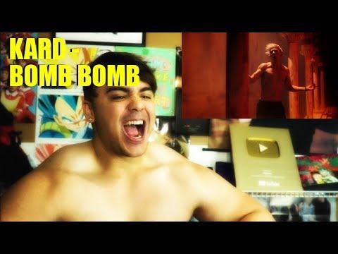 KARD - Bomb Bomb MV Reaction DAMN KARD