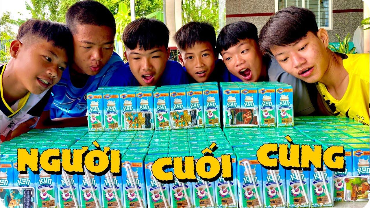 Anh Ba Phải   Thử Thách Người Cuối Cùng Còn Uống Sữa Kun   Kun Milk Drink Challenge