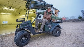 I Bought a Lifted Off- Road Golf Cart and Finally Named My Lodge/ Guide Service!!
