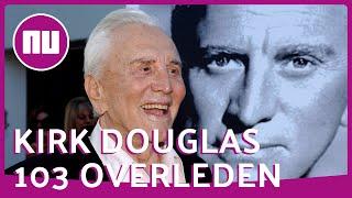 Bekijk bekendste rollen Kirk Douglas: Champion, Lust for Life en Spartacus