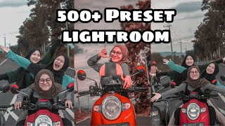 Download Mp3 500+ Preset Lightroom Special 20k Followers @alfiyiyiss_