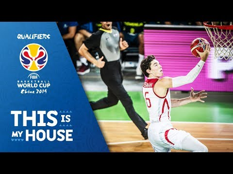 Slovenia v Turkey - Full Game - FIBA Basketball World Cup 2019 - European Qualifiers