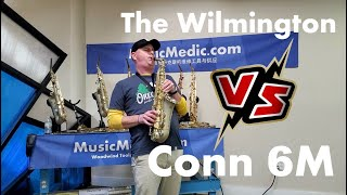 The Wilmington Alto vs a Conn 6M Saxophone