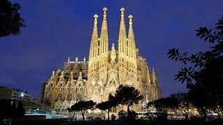 2013  Саграда Фамилия. Барселона(Делом жизни Антонио Гауди стало строительство грандиозного кафедрального собора в Барселоне, посвященног..., 2015-09-26T12:55:47.000Z)