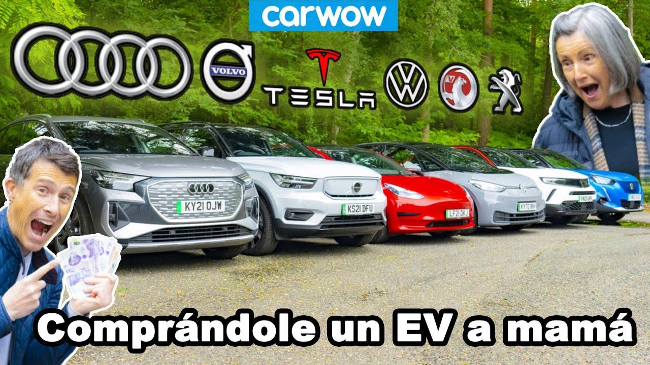 Comprándole a mi mamá un coche eléctrico... Pero ¿cuál escogerá?