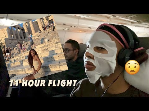 night-time-routine-on-the-plane-✈️-(11-hour-flight-to-athens,-greece)