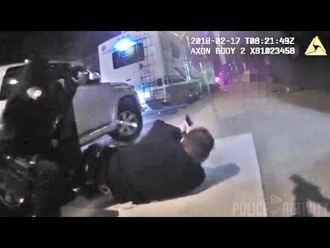 SF Police Officer Bodycam Video of Shootout With Homicide Suspect