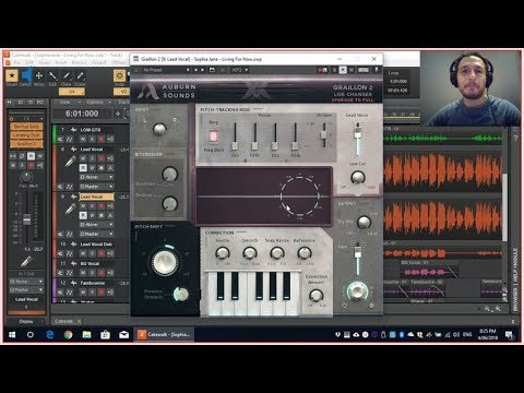 FREE Pitch Correction, Pitch-Shift & Harmony with Graillon 2 Free VST with Cakewalk