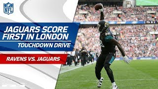 Bortles' Perfect Ball Fake on TD Pass Caps Jags Scoring Drive | Ravens vs. Jaguars | NFL Wk 3