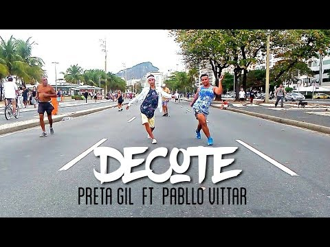 Preta Gil ft Pabllo Vittar - Decote Coreografia Part (Thi Play Dance) #Copacabana