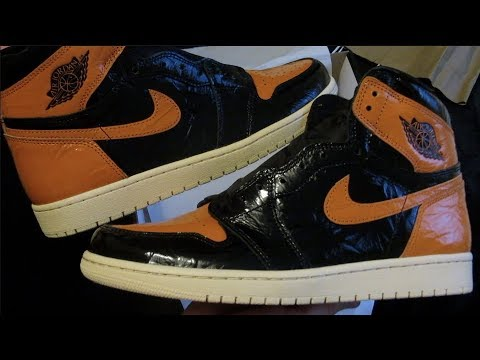 Nike Air Jordan 1 - Shattered Backboards 3.0 - Fresh out le box (review)