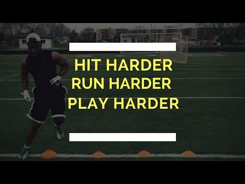 3 Football Training Drills To Hit Harder And Run Harder