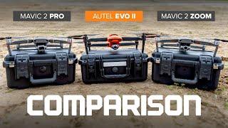 Autel Evo 2 Video Comparison - DJI Mavic 2 Pro and Zoom