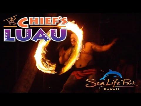 Chief's Luau Entire Show (Sea Life Park - O'ahu, Hawaii) 11-4-15