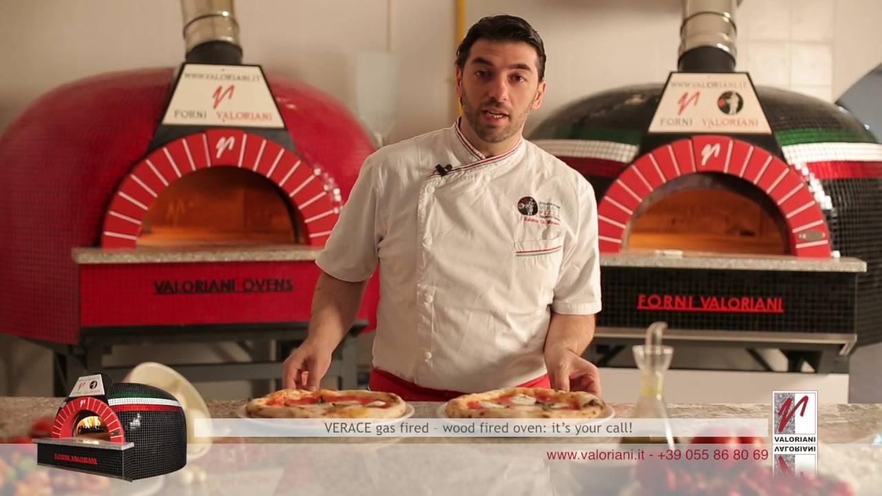 Verace Valoriani: l'inimitabile forno per la vera pizza Napoletana, anche a gas