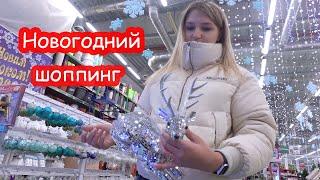 VLOG Новогодний шоппинг