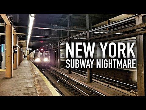 NEW YORK SUBWAY NIGHTMARE!
