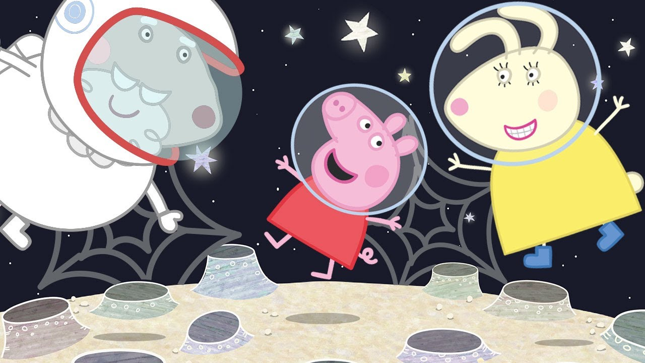 Peppa Pig Official Channel   Grampy Rabbit in Space