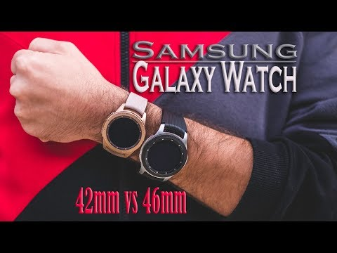 Samsung Galaxy Watch 46MM Vs 42MM | Which Should You Buy