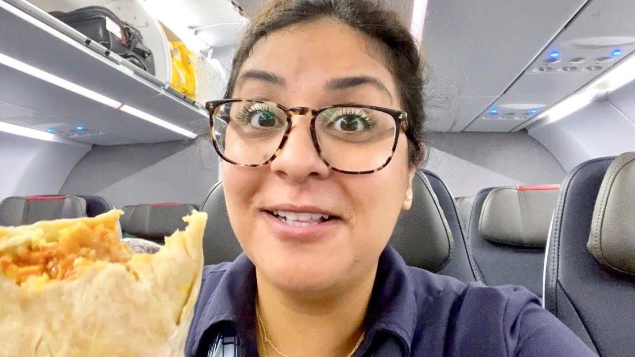 I Can't Resist - Flight Attendant Life - VLOG 15, 2020